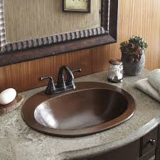 sinkology seville drop in copper bath sink with 4