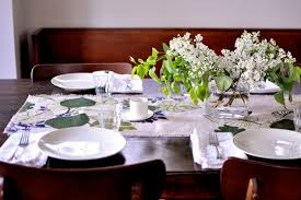 Dinner Table Elegant Dinner Table The Mauch Chunk Ballroom