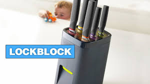 Cool Knife Block This Knife Block Requires Sized Hands To Remove A Knife