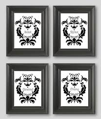 Black And White Small Bathroom Ideas 25 Best Damask Bathroom Ideas On Pinterest Corner Bathroom