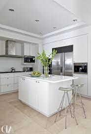 white galley kitchen design free standing kitchen island beige
