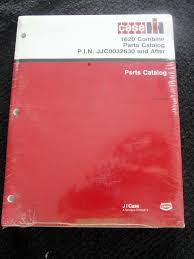 original case ih 1620 combine parts catalog manual jjc0032630 u0026 up