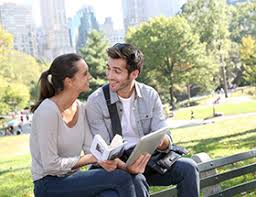 NYC dating  meet New York singles with us   EliteSingles Couple in Central Park