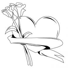 heart of happy valentines day coloring pages valentine coloring