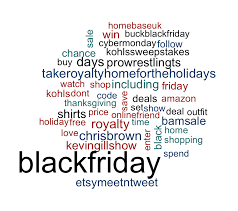 amazon black friday cyber monday black friday cyber monday and giving tuesday word clouds