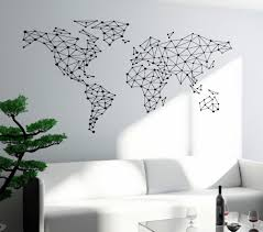 online buy wholesale map wall decal from china map wall decal