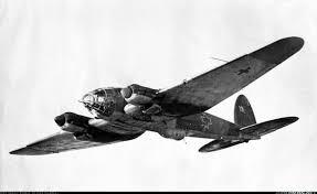 Heinkel He-111 en vol