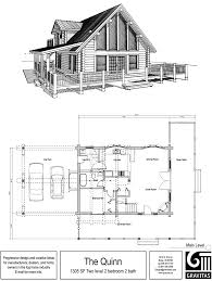 A Frame Cabin Floor Plans With Loft Mountain Cabin Home Plans