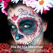 last minute halloween costume day of the dead makeup mommy