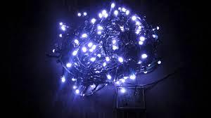 Blue Led String Lights by String Lights 300 Blue U0026 Cool White Superbright Twinkle Led