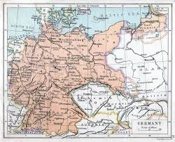 Map Germany by Germany Map 1921 Philatelic Database