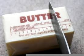 Measuring butter