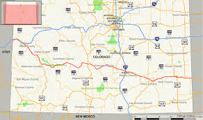 Colorado State University Map by U S Route 50 In Colorado Wikipedia