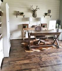 cozy workspaces home offices with a rustic touch spaces walls