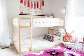 bedrooms for girls with bunk beds 31 ikea bunk bed hacks that will make your kids want to share a room