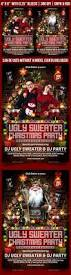 ugly christmas sweater party flyer by gugulanul graphicriver