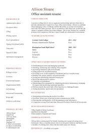 Cover Letter Samples For Office Assistant University Of Chicago Cover Letter Samples Level Office Clerk Resume Resume Maker  Create professional resumes online for free Sample