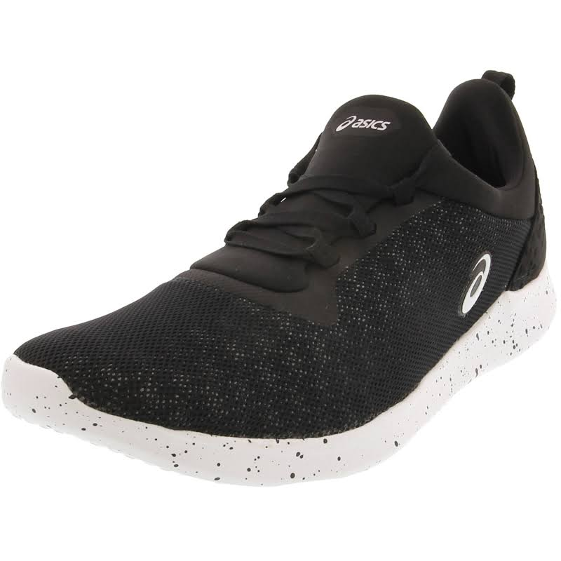 Asics Fit Sana 4 Black / White Ankle-High Mesh Running 7.5M