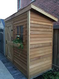 lean to shed kits storage solutions sheds plans cedarshed canada