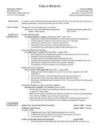Good Resumes  best labor general resume cover letter awesome paper