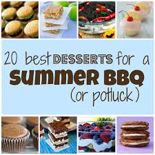 20 best desserts for a summer bbq or potluck something swanky