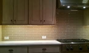 Kitchen Back Splash Subway  X  Olive Crackle Contemporary - Crackle subway tile backsplash