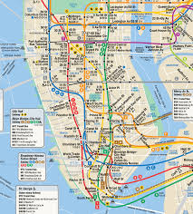 Sf Metro Map by 7 Alternate Versions Of The New York City Subway Map U2013 Next City