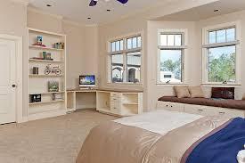 Bay Window Desk Furniture Top 25 Diy Built In Desk Cabinets Models Diy Built In