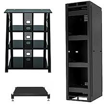 audio cabinet with glass door audio racks stereo stands u0026 shelves free shipping