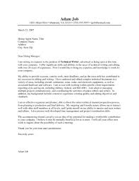 examples of strong cover letters image collections cover letter