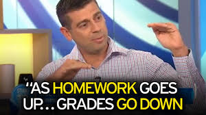 Video thumbnail  Dr Justin Coulson reveals why he dislikes and bans homework in his home