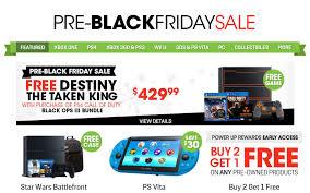 gamestop ps4 black friday gamestop pre black friday 2015 deals amp up the savings