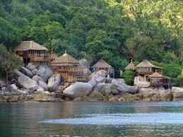 koh tao bungalow honeymoon pinterest tao