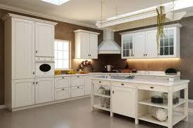 Kitchen Cabinets Mahogany Retro Kitchen Design Ideas L Shaped Cream Finish Mahogany Kitchen