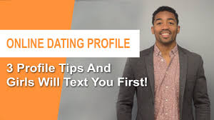 ONLINE DATING PROFILE TIPS FOR MEN     Profiles That Work  YouTube