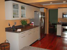Small Kitchen Design Pictures by Charming Design Ideas Using Round Brown Hanging Lamps And