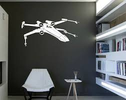 Star Wars Kids Rooms by X Wing Wall Decal Etsy