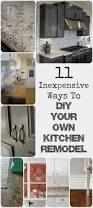 Kitchen Design Backsplash 11 Ways To Diy Kitchen Remodel Baseboard Countertop And Kitchens