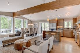 open floor plans a trend for modern living