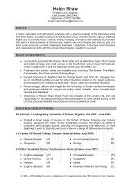 Resume Job Profile by Writing A Resume Profile Qualifications Summary Career Objective