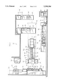 patent us5590586 kitchen layout system google patents