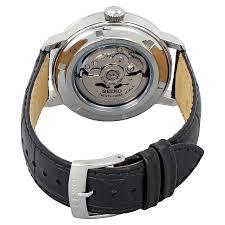 seiko classic automatic black dial men u0027s watch srpa27 seiko