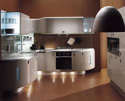 Dynamic-Luxury-Kitchen-Design-with-Cabinets-of-Different-Shapes-Light-Fittings