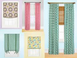 cozy look window treatment ideas using curtains and french door