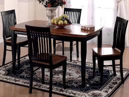 black kitchen table and chairs kitchens design