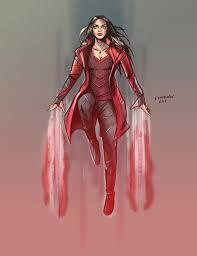 scarlet witch costume comics scarlet witch by johnny lighthands on deviantart