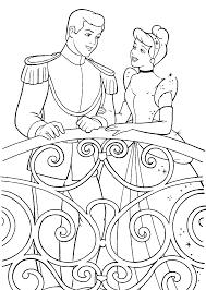cartoon printable disney princess coloring pages cinderella