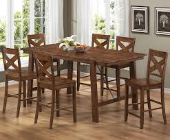 Black Bar Height Dining Table Set Mesmerizing High Dining Room - Counter height kitchen table