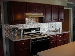 Backsplash For Kitchens Kitchen U Shape Kitchen Decoration Using Silver Metal Backsplash