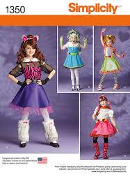 girls costume pattern make monster high equestria